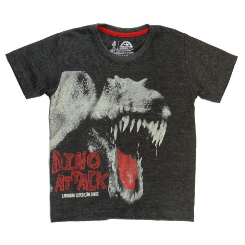 Camiseta Infantil Dino Attack - Savannah Kids