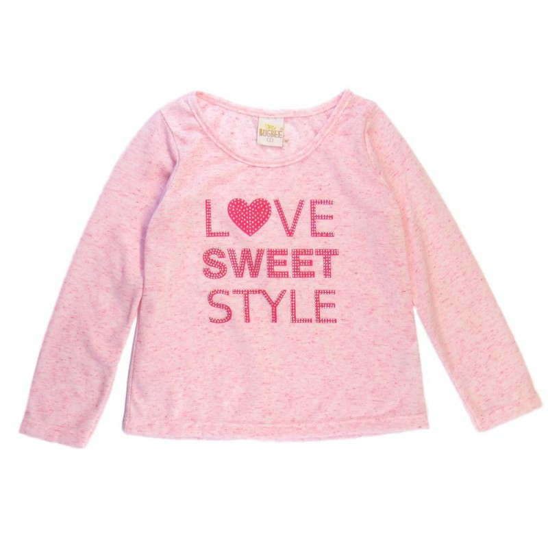 Blusa Infantil Love Sweet - Bugbee