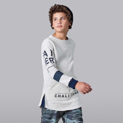 Blusa Infantil Moletom Challenge - Johnny Fox