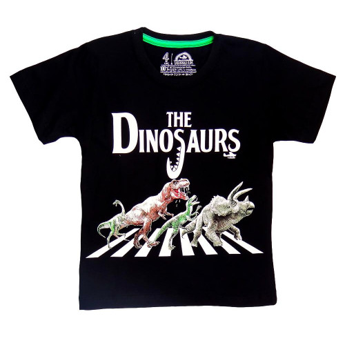Camiseta Infantil The Dinossaurs - Savannah Kids