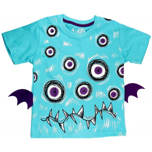 Camiseta Infantil Monstro - Savannah Kids