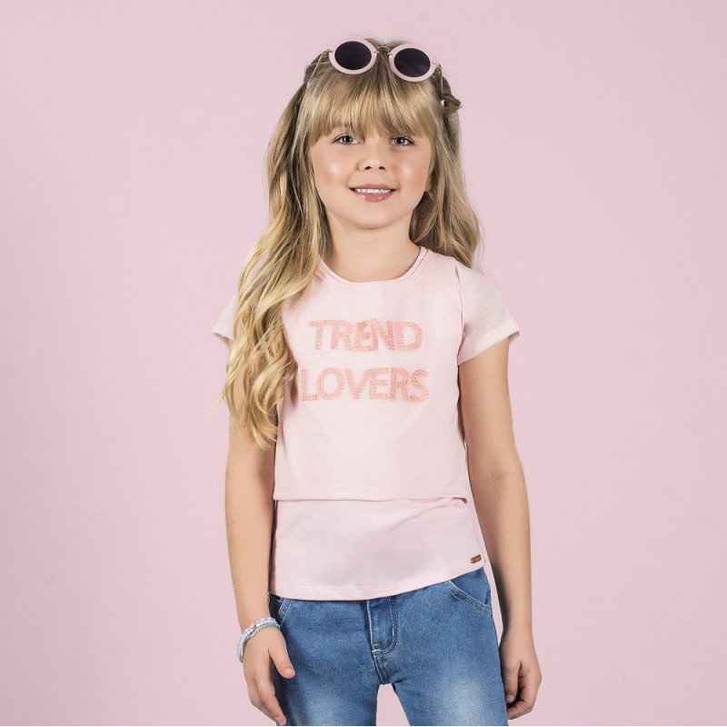 Blusa Infantil Trend Lovers - Bugbee