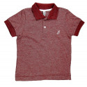 Polo Infantil Mescla Vermelha - Johnny Fox