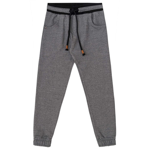 Calça Infantil Jogger em Moletom Filetado - Johnny Fox