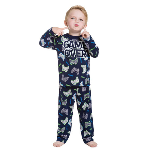 Pijama Infantil Menino Game Over Anti-mosquito – Kyly