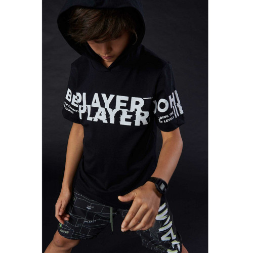 Camiseta Juvenil Menino PLAYER Special Games - Johnny Fox